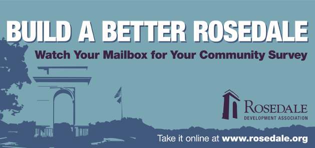 Take the Rosedale Community Survey