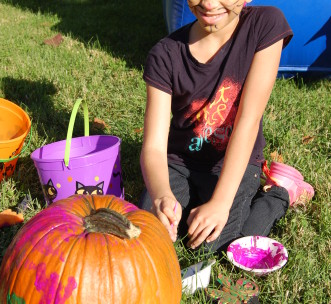 Pumpkin Painting Fun