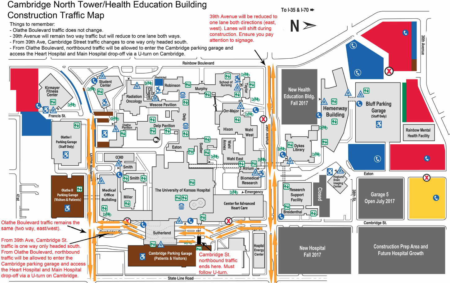 Ku Campus Map Seattle Airport Gate Map Cell Cycle Concept Map