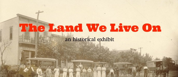 """The Land We Live On "" Rosedale historical exhibit"