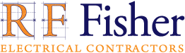 RF Fisher logo