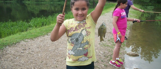 Fishing at Camp Wildwood