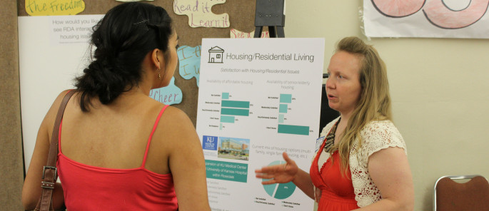 Adrianne Showalter Matlock discusses housing at Dinner with your Data