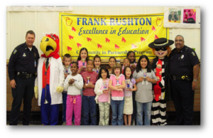 Excellence in Education students at Frank Rushton Elementary