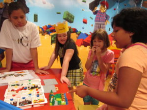 Rosedale's Girl Scouts participate in LegoLand's story building workshop